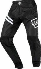 Zwarte Kenny Adults Elite BMX Pants white black BMX- en Crossbroek - Maat: 28