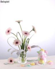 Velou® Design 2 Herzvasen, kurze Blumen + Gestecke