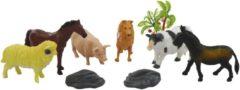 ARO toys Boerderijdieren in zak 9-delig