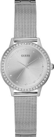 Afbeelding van GUESS Watches - W0647L6 - horloge - Vrouwen - RVS - Zilverkleurig - 30 mm