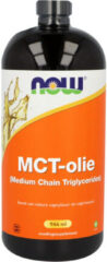 Now Foods NOW MCT Olie (Medium Chain Triglycerides) 946 Milliliter