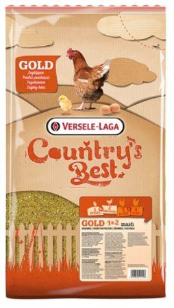 Afbeelding van Versele-Laga Country`s Best Gold 1&2 Mash Opgroeimeel - Kippenvoer - 5 kg Van 0 Weken