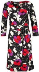 Kleid aus Jersey Gerry Weber Schwarz-Rot-Lila