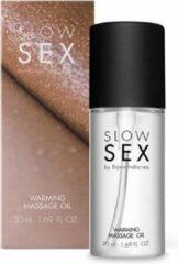 Slow Sex Verwarmende Massageolie - 50 ml - Drogisterij - Massage Olie - Discreet verpakt en bezorgd