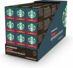 Starbucks by Nespresso capsules Espresso decafe - 12 doosjes à 10 koffiecups