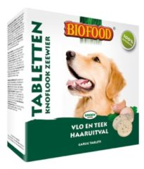 Biofood Anti Vlo Tablet Zeewier & Knoflook - Hond - Snack - 55 tabletten