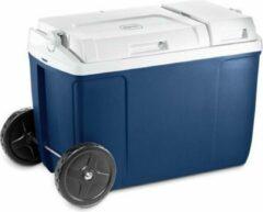 Blauwe Mobicool MP38W koelbox - 38 L - passief - wielen