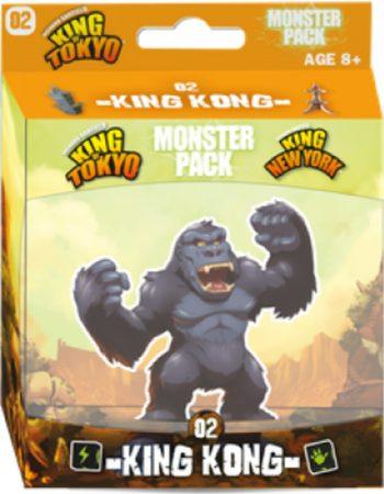 Afbeelding van Iello King of Tokyo - Monster pack 02 - King Kong