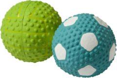 Adori Latex Toy Bal Met Pieper - Hondenspeelgoed - 9.5 cm Assorti