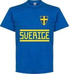 Retake Zweden Team T-Shirt - Blauw - S
