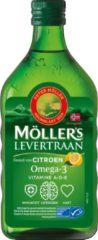Mollers Omega-3 Levertraan Citroen Met Vitamine A D En E (250ml)