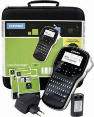 Zwarte DYMO Labelprinter 280 Promotieset - Met 2 printrollen - Thermo transfer - Bedraad