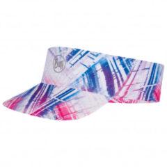 Buff - Pack Run Visor - Pet maat 53 - 59 cm, grijs/roze/blauw