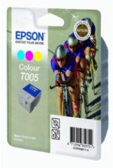 Epson inktcartridge T005, 3 kleuren, 570 pagina's - OEM: C13T00501110