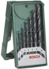 Bosch Accessories 2607019673 HSS Metaal-spiraalboorset 7-delig 2 mm, 3 mm, 4 mm, 5 mm, 6 mm, 8 mm, 10 mm Rollenwals DIN 338 Cilinderschacht 1 set(s)