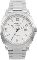 Prisma Talisman Herenhorloge P.1317 Automaat edelstalen band Zilver