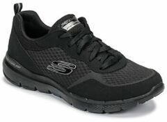 Zwarte Fitness Schoenen Skechers FLEX APPEAL 3.0