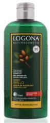 Logona Shampoo glans bio argan olie 250 Milliliter
