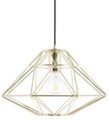 Goudkleurige Beliani Guam Hanglamp Staal 31 X 31 Cm