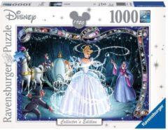 Witte Ravensburger puzzel Disney Princess Cinderella - Legpuzzel - 1000 stukjes