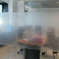 1x Lineafix Garbi - Raamfolie statisch (zonder lijm) - 92 x 150cm -Zelfklevend - 99% UV bescherming - Herbruikbaar - Met Reliëf