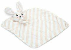 Beeztees Puppy Knuffellap Dimpie - Hondenspeelgoed - 31 x 31 x 6.5 cm Roze Wit