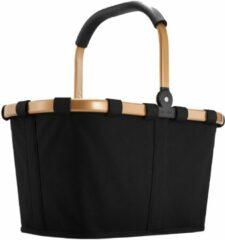 Reisenthel Carrybag frame Boodschappenmand - Polyester - 22L - Frame Goud - Zwart