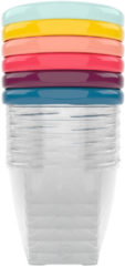 Blauwe BabyMoov Babybowls 8.45oz Kom 0,25 l Multi kleuren, Transparant