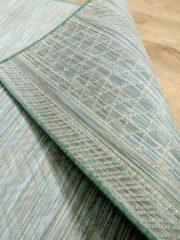 Pergamon In- und Outdoor Teppich Beidseitig Flachgewebe Hampton Mintgrün... 135x190 cm