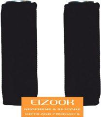 Koozie.eu 2 x Koelhoud blik hoes 50cl - zwart - blik koelhoudhoes