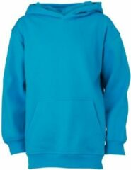 James & Nicholson James and Nicholson Kinderen/Kinderkapjes Sweatshirt (Turquoise)