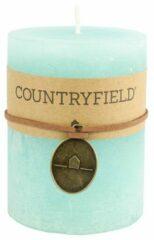 Countryfield Stompkaars Turquoise Ø7 cm   Hoogte 14 cm