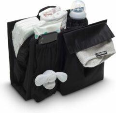 Snoozzz organizer - maak van je handtas een luiertas - inclusief verschoningsmatje -Zwart