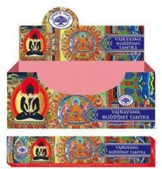 Bruine Green Tree Candle Company Wierook Vajrayana Buddhist Tantra 15 gram