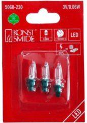 Konstsmide 5060-230 Reserve lampjes voor lichtketting 1 stuks 3 V Neutraal wit
