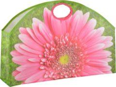 Esschert Design Shopper Gerbera 36 Liter Pp Roze/groen
