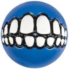 Rogz Grinz Treat Ball Medium - Hondenspeelgoed - Blauw M