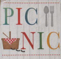 Ppd Servetten Summer Picnic 33 x 33 cm