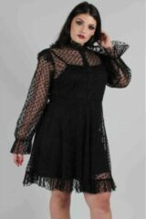 Jawbreaker Skater jurk -4XL- Don't Mesh With My Heart Zwart