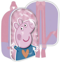 Nickelodeon Rugzak Peppa Pig Meisjes 26 X 31 Cm Polyester Roze