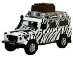 Witte Kids Globe Landrover Defender Safari - Speelgoedvoertuig: 14 cm