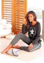 Zwarte BUFFALO pyjama met sportieve broek & shirt met sterrenprint