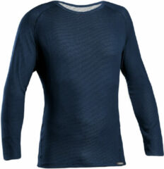 Marineblauwe GripGrab Ride Thermal Long Sleeve Base Layer Sportshirt Unisex - Maat L