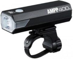 Cateye koplamp Ampp 400HL-EL084RC led usb oplaadbaar accu zwart