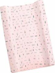 Interbaby Aankleedkussenhoes Tipi Oso 80 X 52 Cm Katoen Roze