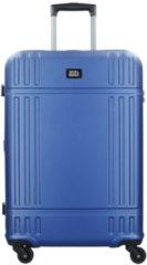 Value Tri M 4-Rollen Trolley 65 cm mit TSA-Schloss & extra breit Stratic blau