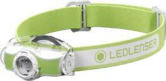 Groene Ledlenser MH-3, Outdoor, headlamp, AFS, SLT, w/clip, green