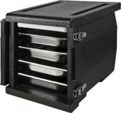 Zwarte Thermo Future Box Frontloader 1/1 GN 8 (8 regalen)