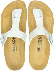 Nelson dames slipper - Ecru - Maat 40
