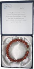 Een Wens Halfedelstenen Armband in Geschenkdoos Goudvloed